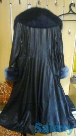 Продам кожаный плащ (осень, фотография 3