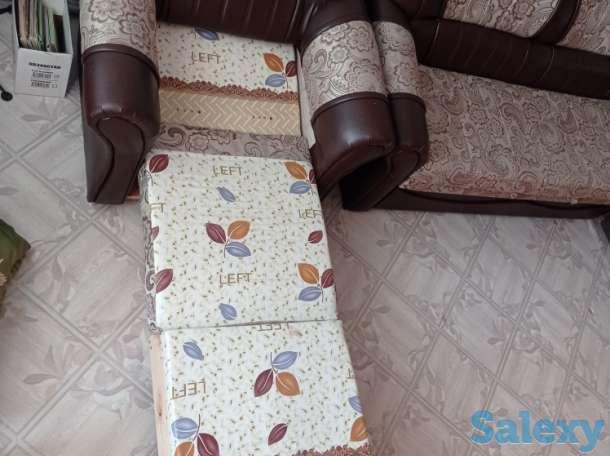 Продам угловой диван и кресло-кровать б\у. Самовывоз., фотография 3