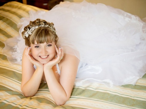 свадебные, вечерние причкски. плетения., фотография 12