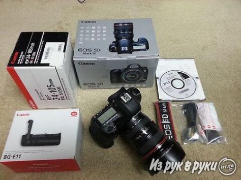 Canon EOS 5D Mark III комплект 24-105mm Официальный, фотография 2
