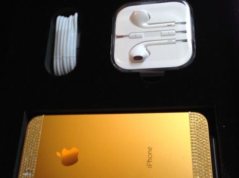 Яблоко iPhone 5S 64Gb Neverlock (золото), фотография 4