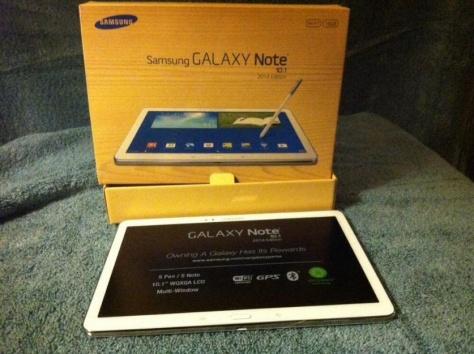 Samsung P6000 Galaxy Note 10.1 Wi-Fi 32GB белый, фотография 2