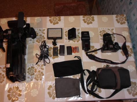фотоаппарат с видеокамерой комплект Срочно, фотография 3