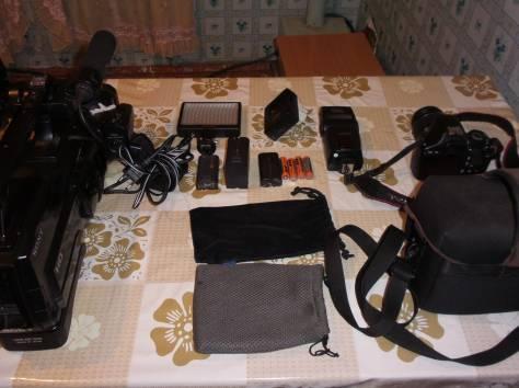 фотоаппарат с видеокамерой комплект Срочно, фотография 9