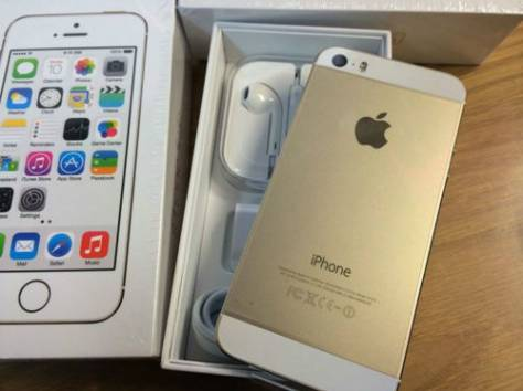 iPhone 5S 16GB 32GB Gold , фотография 1