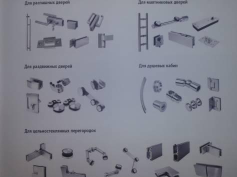 Алюминиевый профиль, двери, фурнитура и комплектующие, фотография 2