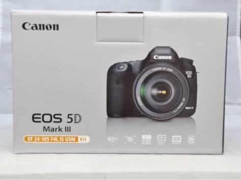 Canon EOS 5D Mark III + EF 24-105 mm Kit Объектив , фотография 1