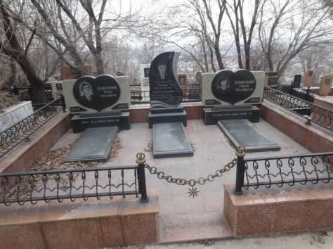 Надгробные памятники, комплексы, фотография 3