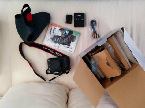 Canon EOS 5D Mark III 22,3 МП цифровая камера, фотография 2