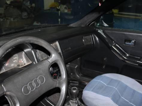 Продам Audi 90, 1990 г., 1.8л., вишневый металлик, фотография 1