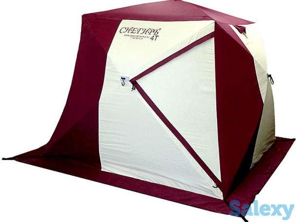 Палатка для Зимней Рыбалки Снегирь 2Т 3Т 4Т Long, фотография 5