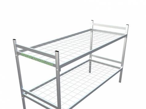 Трехъярусные металлические кровати от производителя оптом., фотография 5