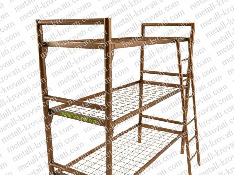 Железные кровати для рабочих, кровати для общежитий, кровати для интернатов, металлические кровати по низким ценам., фотография 2