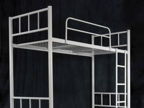 Железные кровати для рабочих, кровати для общежитий, кровати для интернатов, металлические кровати по низким ценам., фотография 5
