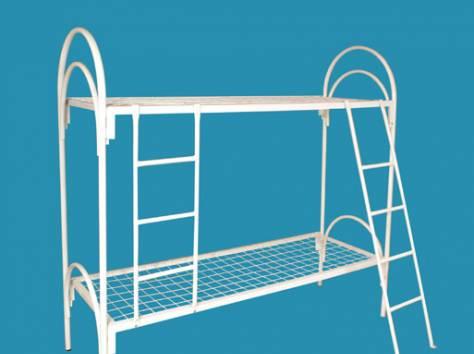 Кровати железные двухъярусные для общежитий от производителя., фотография 9