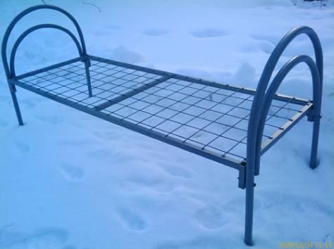 Кровати железные двухъярусные для общежитий от производителя., фотография 11