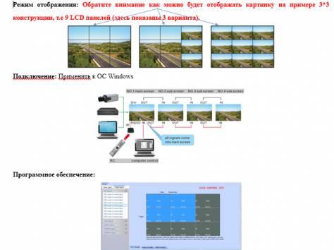 Видеостена на базе Samsung, фотография 1