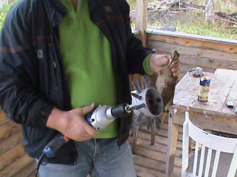 Насадка для ощипывания птицы - быстро и легко !, фотография 4