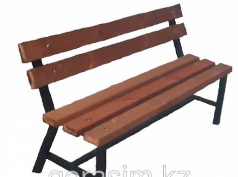 Скамейка со спинкой, фотография 1