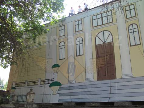Монтаж демонтаж банеров Алматы, фотография 2