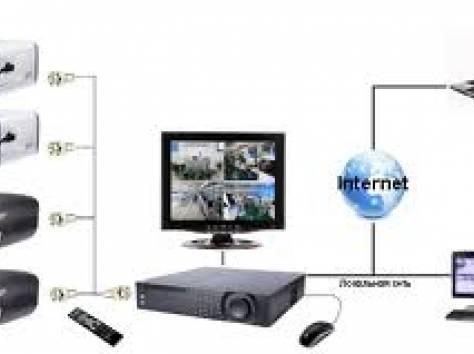 Установка видеонаблюдения в Астане, фотография 1