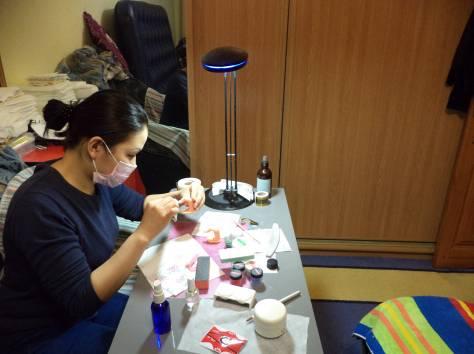 Школа маникюра педикюра наращивание ногтей акрил гель дизайны, фотография 5