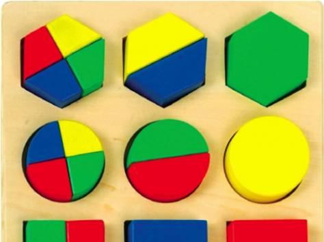 Развивающие игрушки дольки пазл для занятий с ребенком 46135, фотография 1