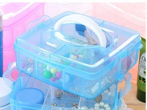 Органайзер для мелочи пластик 3 яруса 41052, фотография 4