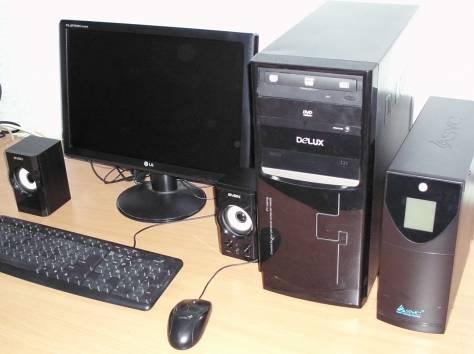 Компьютер - Intel Celeron D 347, 3066 MHz, ОЗУ-DDR2 4Gb 800 Mgz, HDD 500Gb, фотография 1