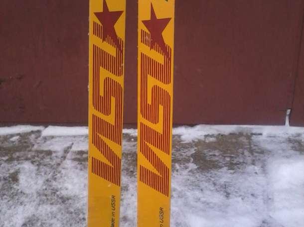 продаем новые  лыжи пластиковые беговые, фотография 1