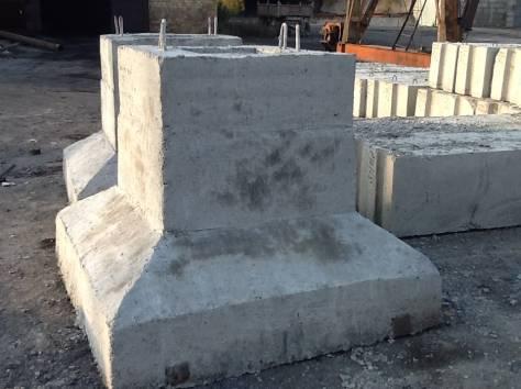 Блоки фундаментные стаканного типа, фотография 1