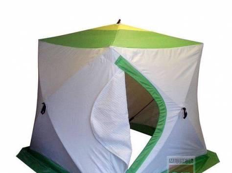 Палатка зимняя Медведь Куб 2 Трехслойная, фотография 1