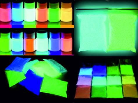 Светящиеся краски Люминофор, фотография 1