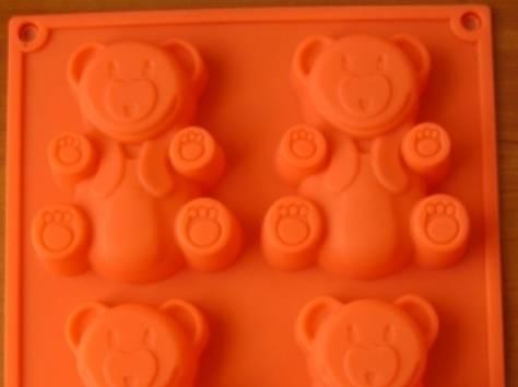 Новая силиконовая формочка для выпечки Барни, фотография 3