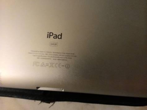 Продам Ipad 3 64GB в идеальном состоянии. В подарок кожаный чехол. Коробка, документы всё в наличии. Возможен торг, фотография 3