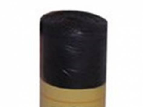 Пакеты для мусора в рулоне черные 46052, фотография 1
