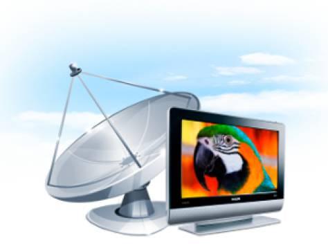 Спутниковое ТВ в Алматы,спутниковое, фотография 1