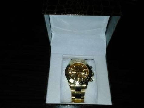Продам позолоченные часы Rolex Daytona, фотография 2