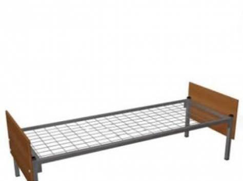 Кровати металлические двухъярусные, одноярусные, кровати для рабочих, кровати оптом, кровати для больницы, армейские опт, фотография 3