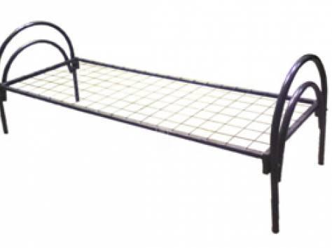 Кровати металлические двухъярусные, одноярусные, кровати для рабочих, кровати оптом, кровати для больницы, армейские опт, фотография 5