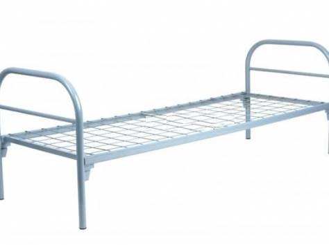 Металлические кровати для пансионатов, кровати для детских лагерей, кровати одноярусные и двухъярусные, дёшево., фотография 4