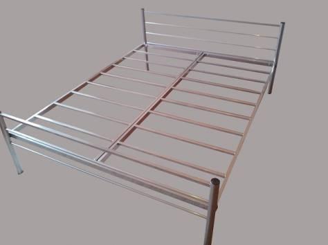 Железные двухъярусные кровати для бытовок, кровати для общежитий, кровати железные для интернатов, школ. Дёшево., фотография 4