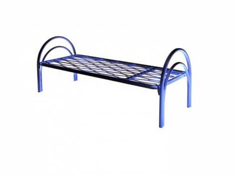 Железные двухъярусные кровати для бытовок, кровати для общежитий, кровати железные для интернатов, школ. Дёшево., фотография 7