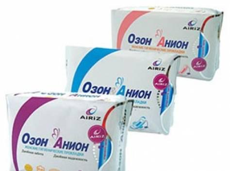 Гигиенические прокладки Озон Анион, фотография 2
