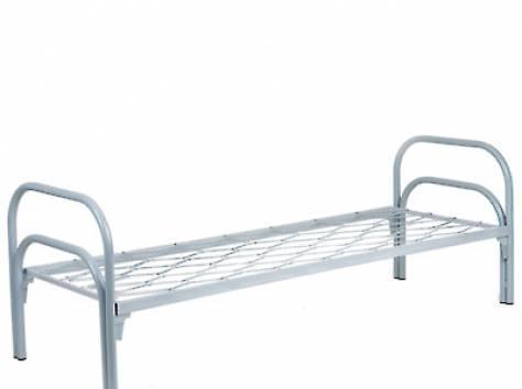Кровати металлические для детских лагерей, кровати для гостиниц, кровати для рабочих, кровати для турбаз. Низкая цена., фотография 2