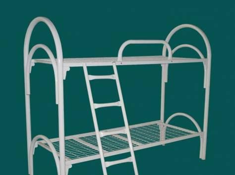 Кровати металлические для детских лагерей, кровати для гостиниц, кровати для рабочих, кровати для турбаз. Низкая цена., фотография 5