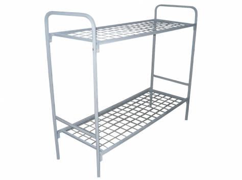 Армейские металлические кровати, кровати для рабочих, кровати для строителей, кровати для детских лагерей, низкая цена., фотография 3