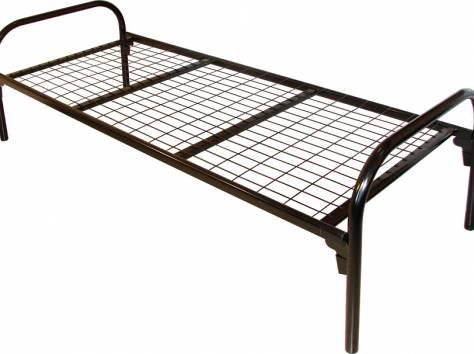 Армейские металлические кровати, кровати для рабочих, кровати для строителей, кровати для детских лагерей, низкая цена., фотография 6