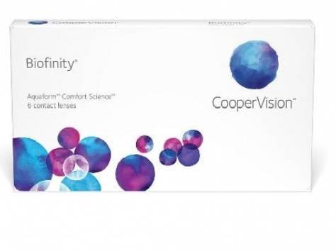 Контактные линзы Biofinity, фотография 1