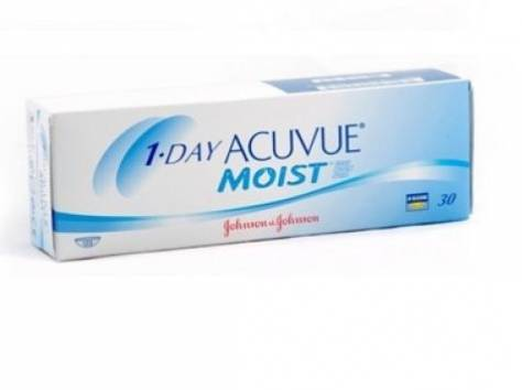 Контактные линзы Acuvue Moist!, фотография 1